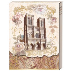 Pocket carnet de notes 'Notre Dame'