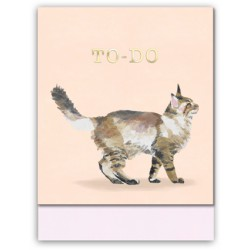 Pocket carnet de notes (cat to do) 'Classic Pets'