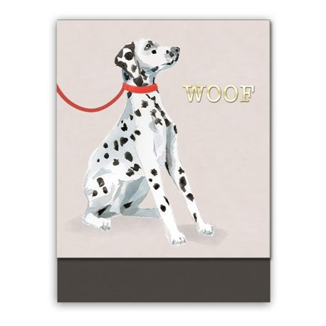 Pocket carnet de notes (dog woof) 'Classic Pets'