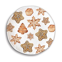 Set 4 assiettes dessert 'Holiday Treats'