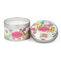 Bougie parfumée (boîte métal, 113 gr) 'Garden Melody'