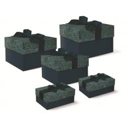 Set de 5 boîtes carrées GM 'Jewel Brocage'