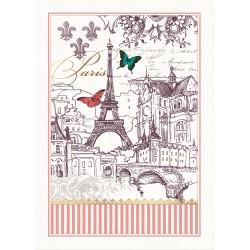 Torchon 'Toujours Paris'