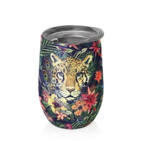 Mug bureau 420 ml (jungle tiger) ' BIOLOCO OFFICE '