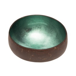 Coconut decorative bowl (shiny mint) ' CHIC MIC '