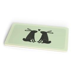 Bamboo cutting board bunny love CHIC MIC