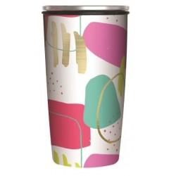 Gourde isotherme Bioloco Loop 500 ml 'pink'