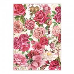 Kitchen towel - Royal Rose