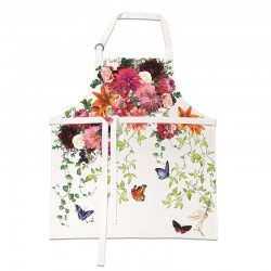Tablier 100% coton ajustable - Sweet Floral Melody