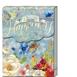 Pocket Carnet Notes 'Choose Happiness'