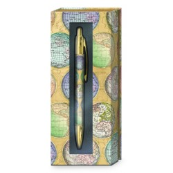 Boxed pen - Globes