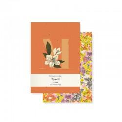 Set 2 mini journals - Monogram Floral M