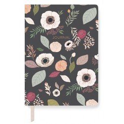 Journal - Classic Anemone Charcoal