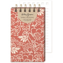Wire Jotter - Natural Line Floral
