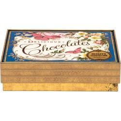 Medium rectangular - Nostalgia - Blue Chocolates