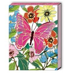 Pocket notepad - Full Bloom Butterfly