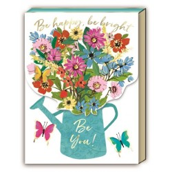Pocket notepad - Full Bloom Watering Can