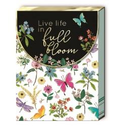 Pocket notepad - Full Bloom