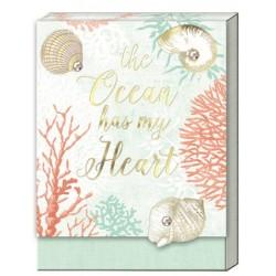 Pocket notepad - Ocean Heart