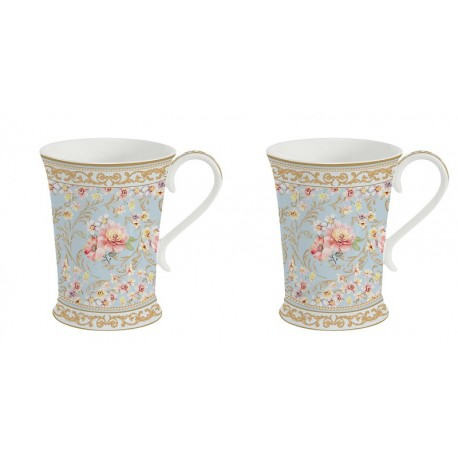 2 Mugs 270 ml - Majestic Flowers