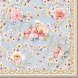 Napkins - Majestic Flowers