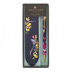 Boxed pen & pouch set - Sara Miller London