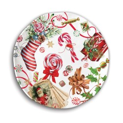 Cookie plate - Peppermint