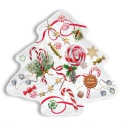 Tree plate - Merry Christmas
