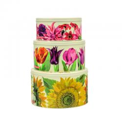 Set 3 round cakes - Emma Bridgewater Flowers
