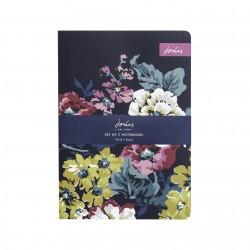Set 2 notebooks - Joules Cambridge Floral