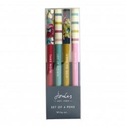 set 4 pens - Joules Cambridge Floral