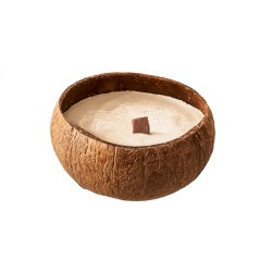 Natural candle in coconut Creme - Chic Mic