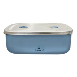 Lunchbox Bioloco Sky Steel Blue - Chic Mic
