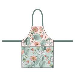 Organic kitchen apron Nelumbo - Chic Mic