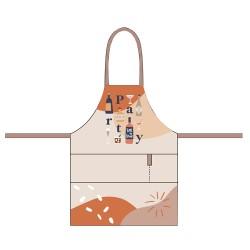 Organic kitchen apron Party - Chic Mic