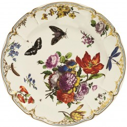 PLATE - PINK BUTTERFLY