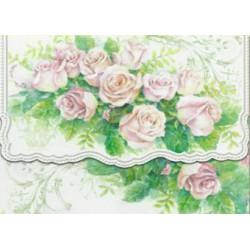 Pochette Correspondance 'Rose Cascade'