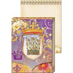 Pocket Carnet Notes Window 'Couronne'