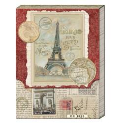 Pocket Carnet Notes 'Paris Newspaper'