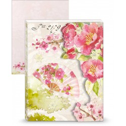 Pocket Carnet Notes 'Cherry Blossoms'