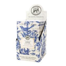 Présentoir de 12 Sachets Parfumés 'Indigo Cotton'