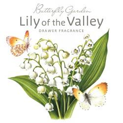 Sachet parfumé anglais 'Lily of The Valley' (Muguet)