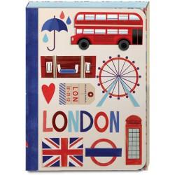 Pocket Carnet Notes 'London'