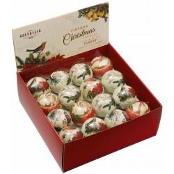Présentoir de 32 boules 'Nostalgia Noël'