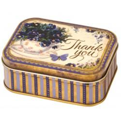 Boîte Rectangulaire PM Nostalgia 'Thank You'