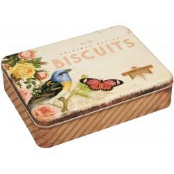 Boite Rectangulaire Nostalgia 'Biscuits'