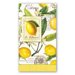 Serviettes en papier rectangulaires 'Lemon Basil'