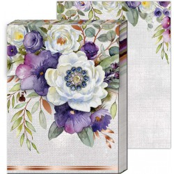 Carnet de notes Brooch 'Lilac & Sage'