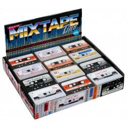 Présentoir 36 boîtes Vintage 'Cassette Tapes'