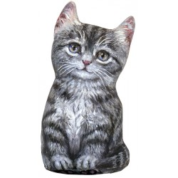 Cale-Porte Chat MM 'Grey Tabby Kitten'